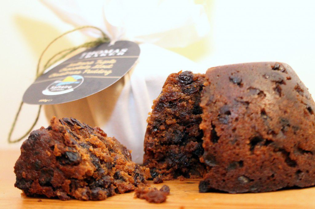 Saltaire Triple Chocolate Stout Christmas Pudding - Thomas the Baker ...