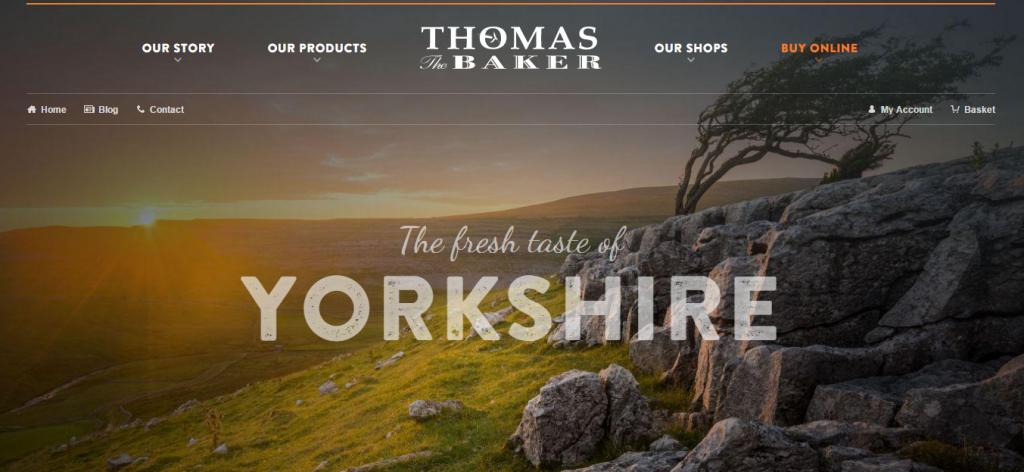 Thomas the Baker new website