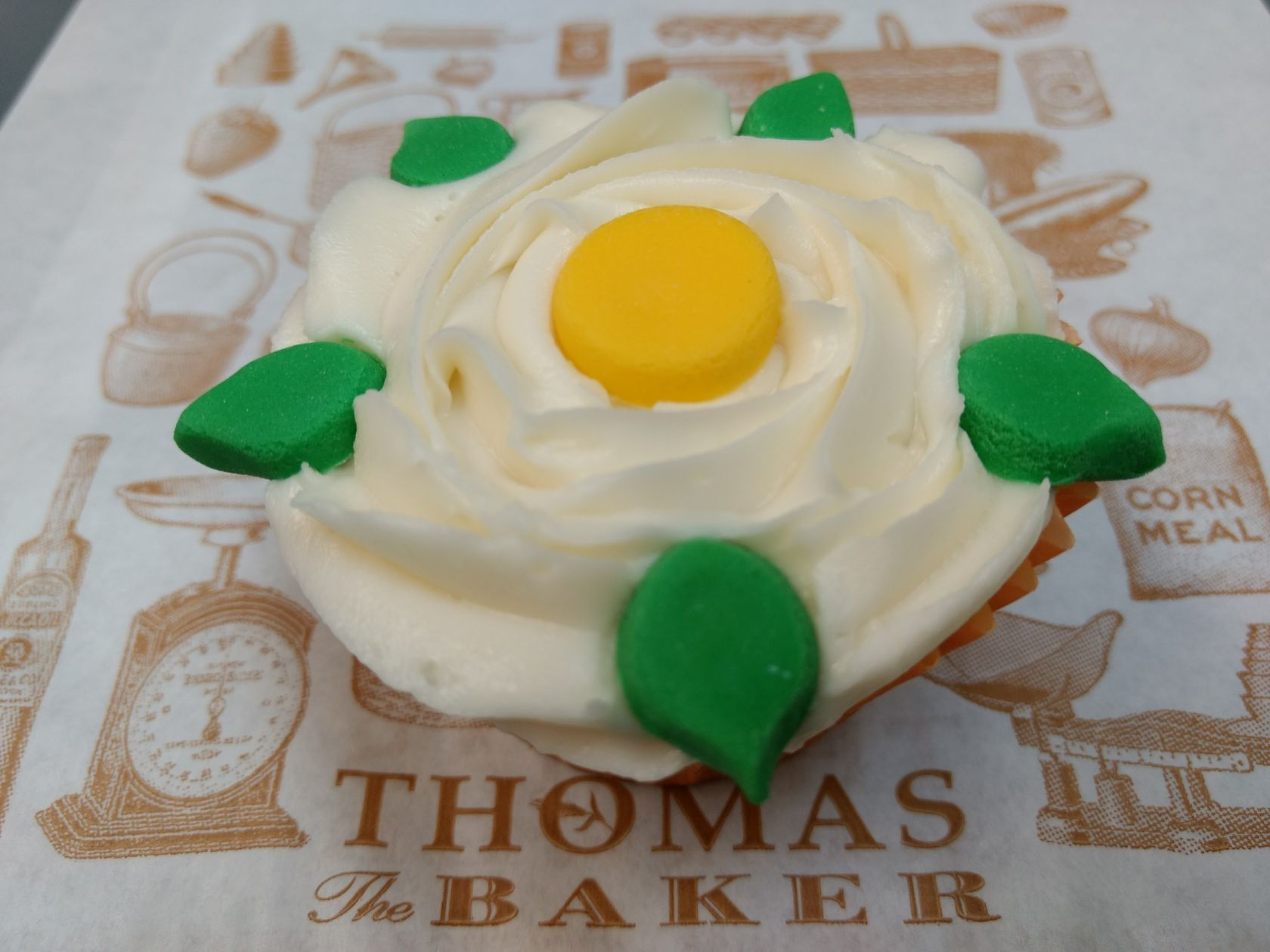 Yorkshire Day Cupcakes Thomas the Baker