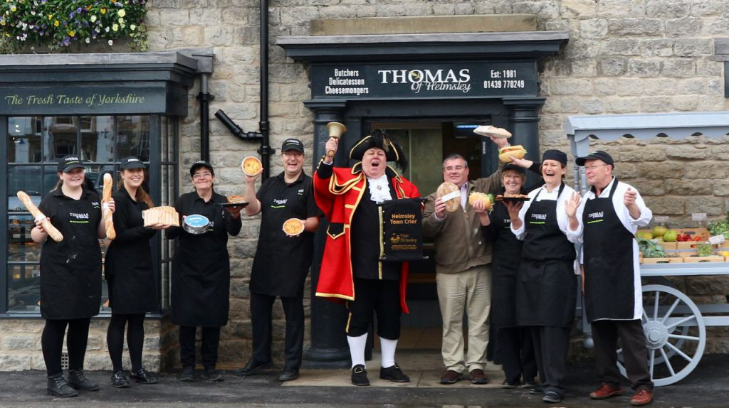 Thomas of Helmsley Grand Opening