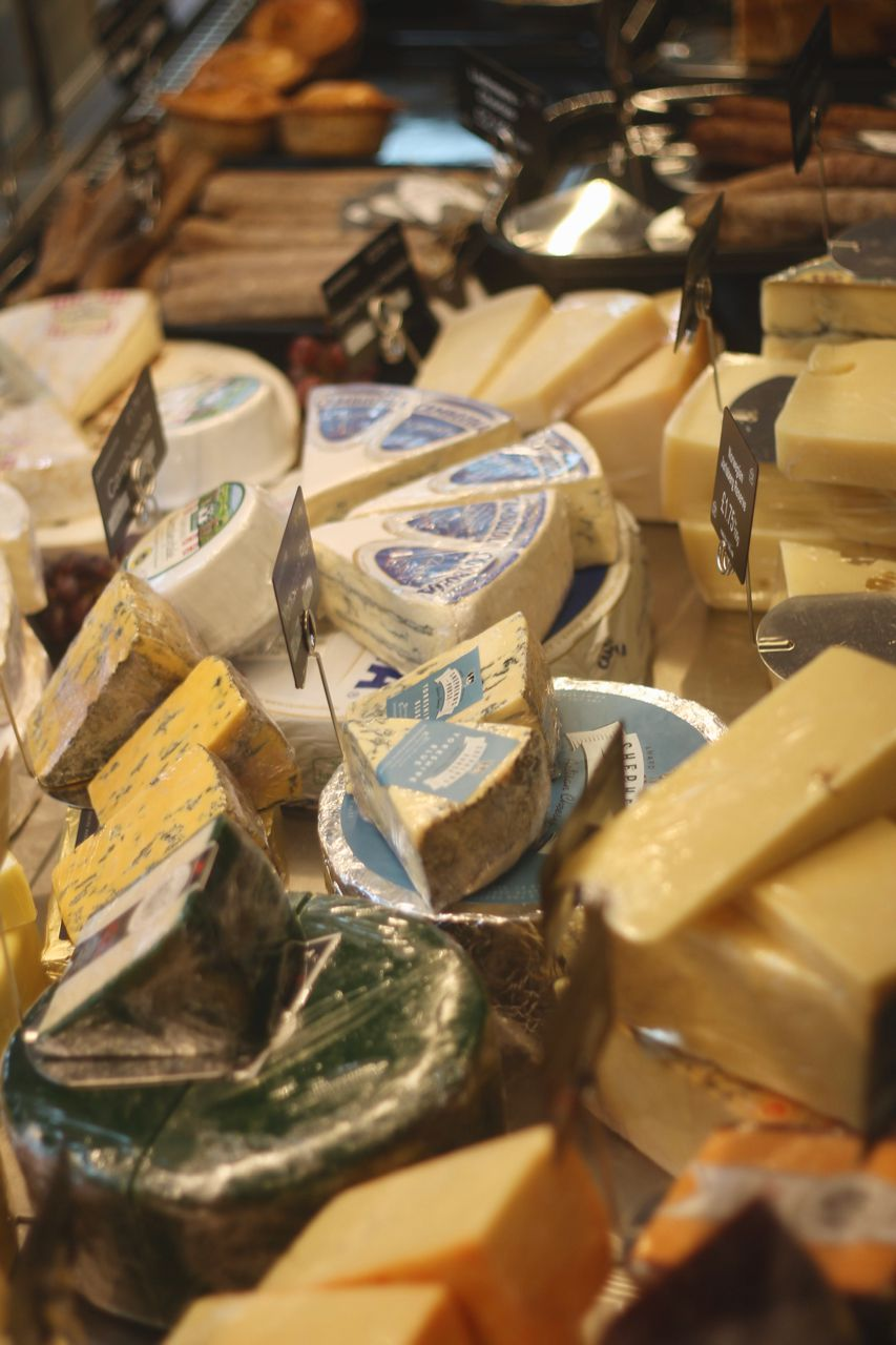 Thomas of Helmsley Grand Opening - cheese counter