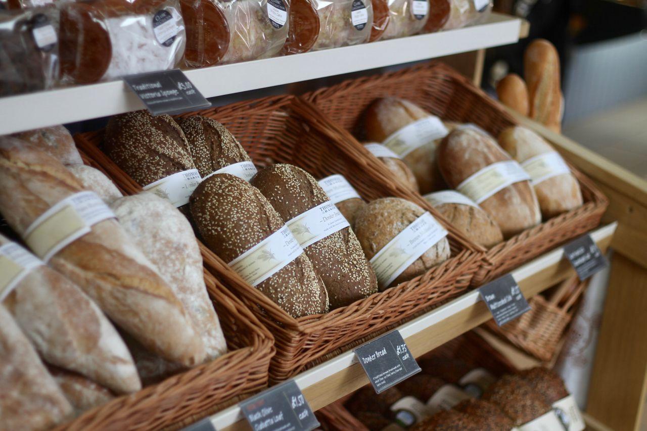Thomas of Helmsley Grand Opening - artisan breads