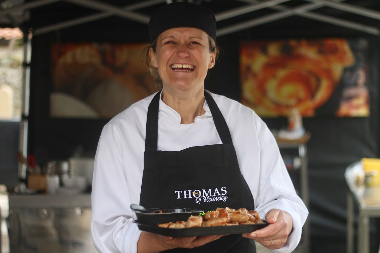 Thomas of Helmsley Grand Opening - Steph Moon demonstrations