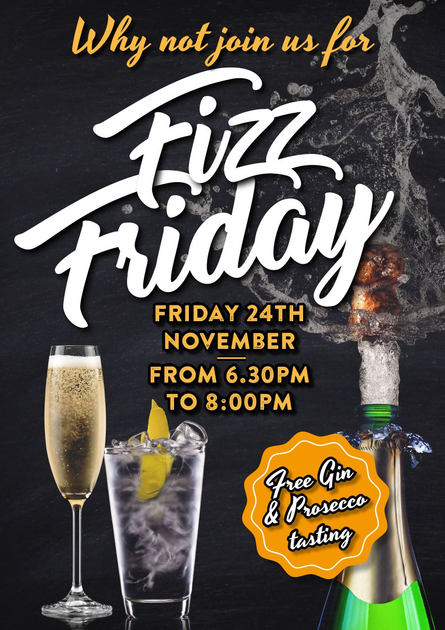 Fizz Friday at Thomas of Helmsley