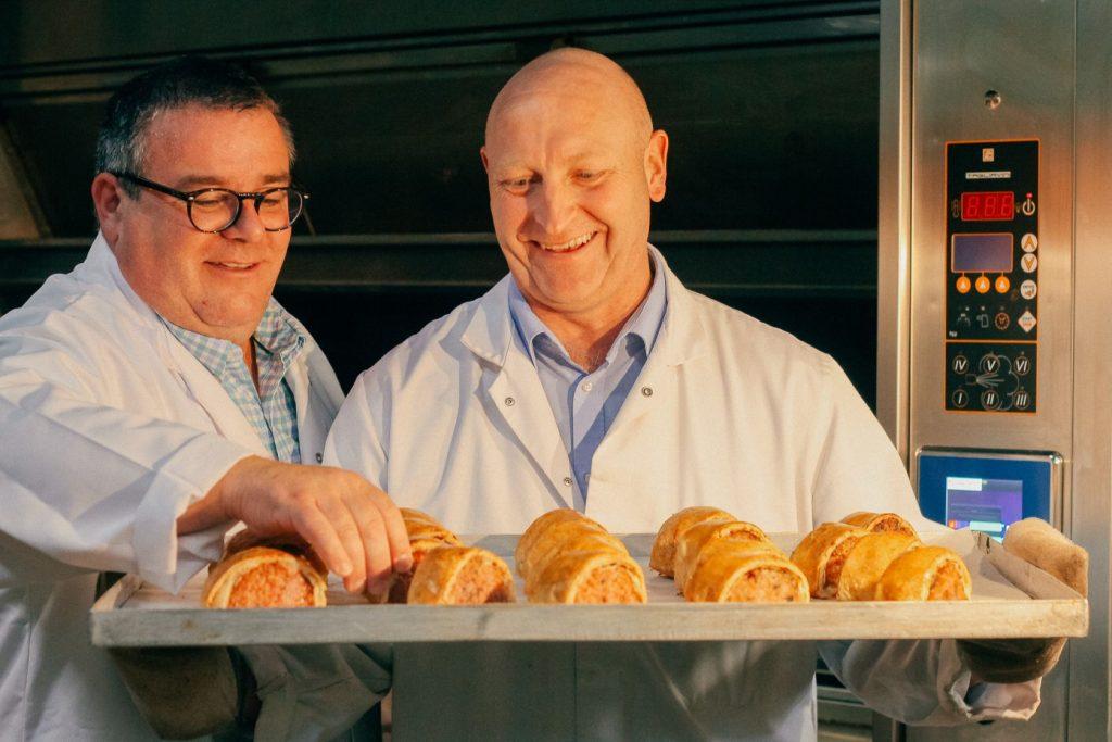 Thomas the Baker award winning deli black pudding sausage rolls